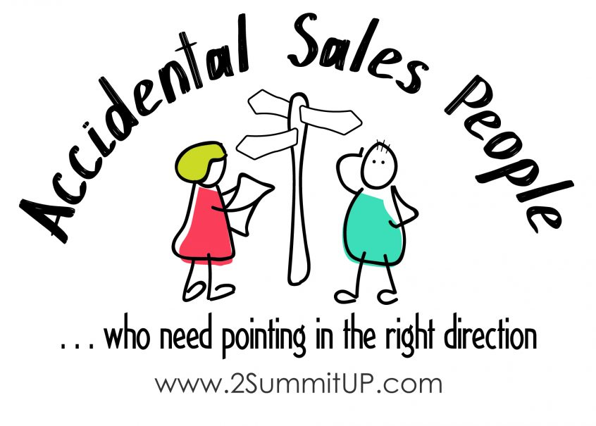 Training for Accidental Sales People who need pointing in the right direction