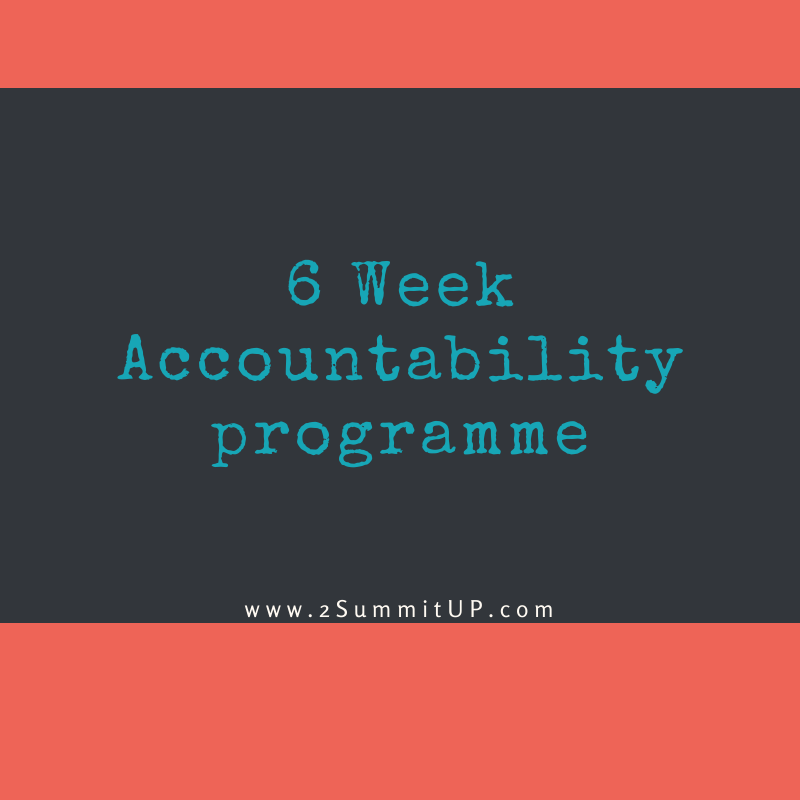 6 Week Sales & Accountability Programme